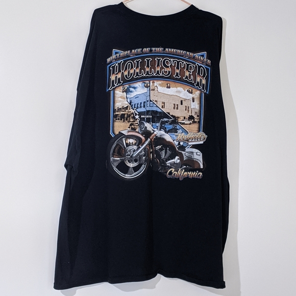 Gildan Other - Hollister Bike Rally 2014 Men's T-shirt 5XL